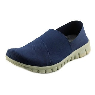NoSox Stretch Men Round Toe Synthetic Blue Sneakers