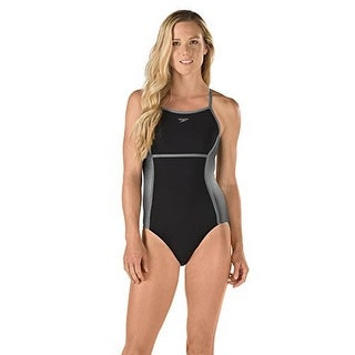 Speedo Womens Heather Crossback Fitness