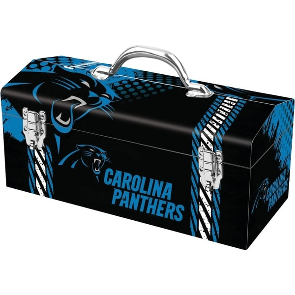 Sainty 79-305 Carolina Panthers NFL Tool Box, 10""