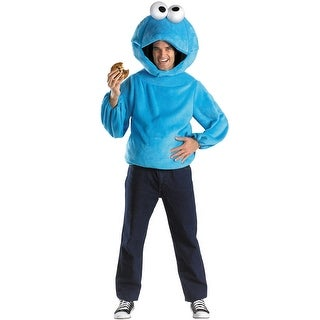 Disguise Cookie Monster Adult Costume - Blue
