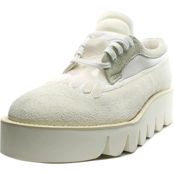 Hender Scheme Pablo Women Suede White Fashion Sneakers