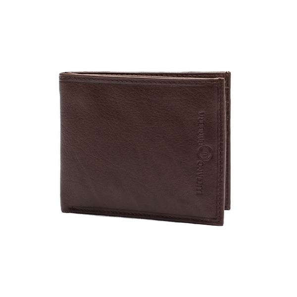 Luciano Barbera Club SASA Leather Wallet Brown