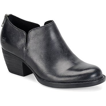 B.O.C Womens Antonia Leather Closed Toe Ankle Fashion Boots