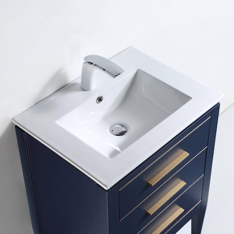"Ayer 24"" Single Bathroom Vanity Set"