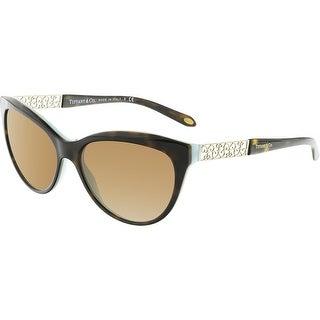 Tiffany And Co. Women's TF4126B-80014U-57 Black Butterfly Sunglasses