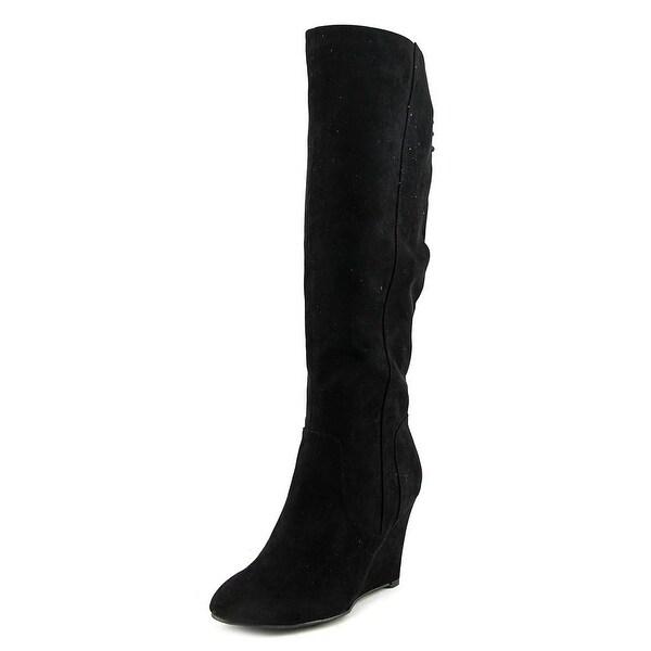 Thalia Sodi Adallia Round Toe Suede Knee High Boot