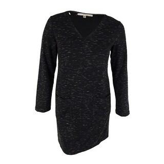 Studio M Women's Space Dye Dress - Black/White