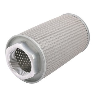 JL-16 2BSP Hydraulic Lubricating Suction Strainer Filler Breather Filters Gray