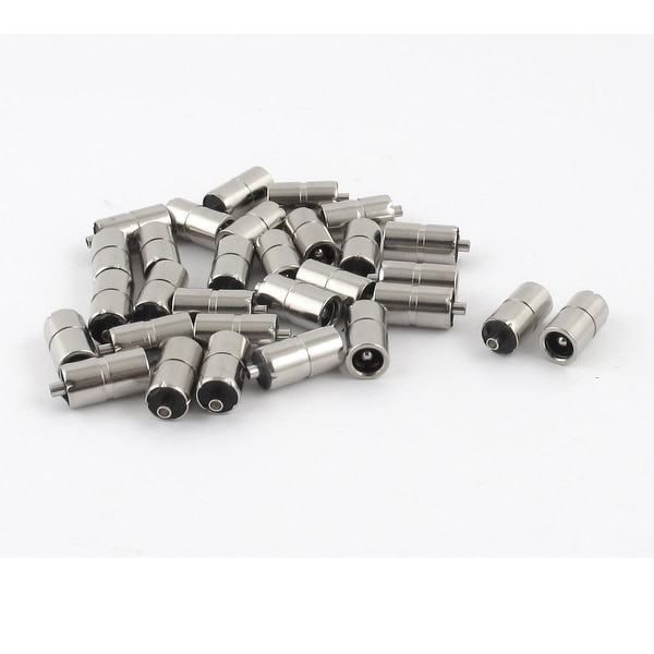 Unique Bargains 30 Pcs 5.5mm x 2.1mm Female DC Power Plug Socket Jack Connector