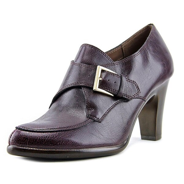 Aerosoles Nostalgic Women Pointed Toe Synthetic Burgundy Ankle Boot