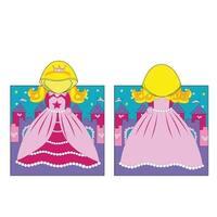 Kreative Kids Boys Girls Princess Cap Bath Towel One Size