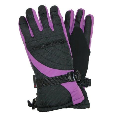 Grand Sierra Women's Bec-Tec Waterproof Glove with Zippered Pocket