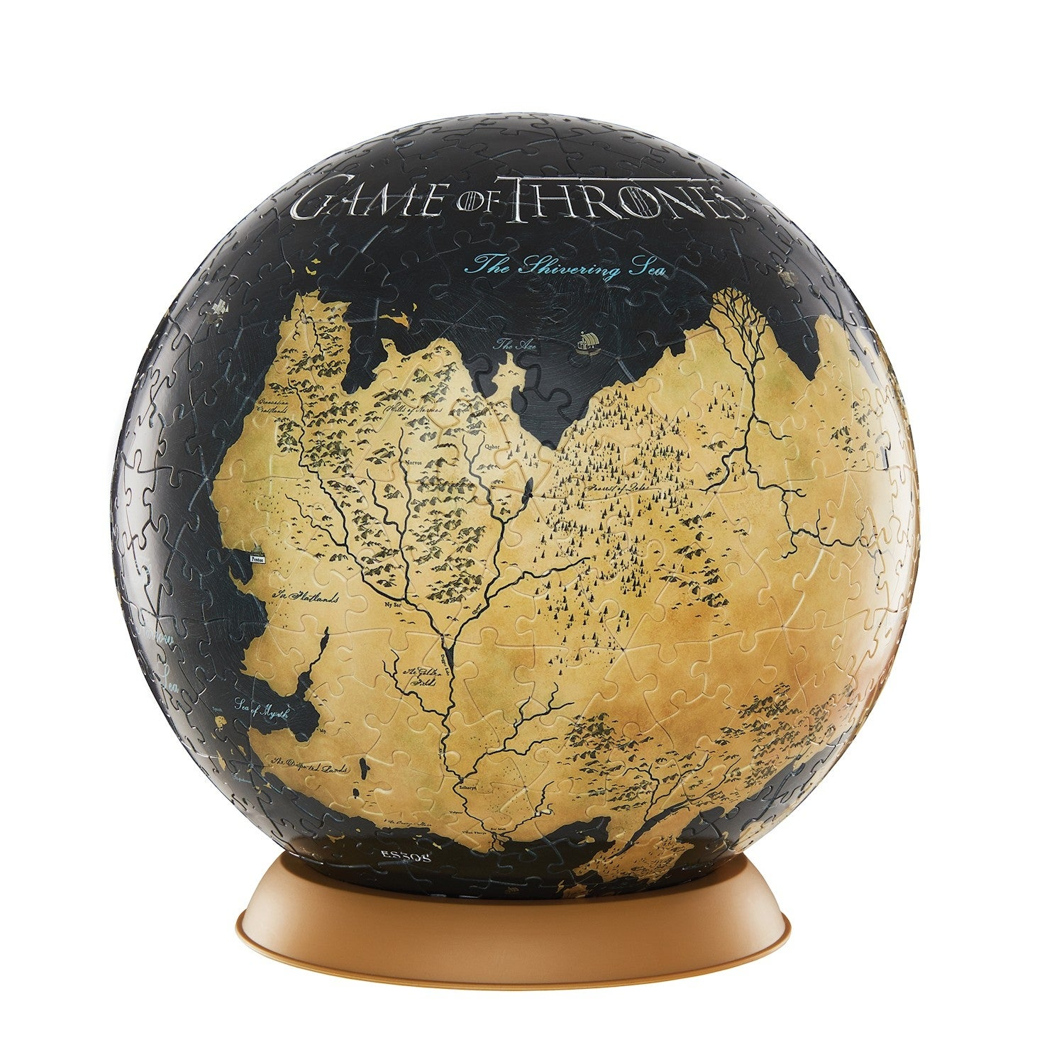 4D Cityscape Game Of Thrones Globe Puzzle - 540 Piece 3D Map of Westeros on game of thrones riverlands map, game of thrones castles, game of thrones bravo 's map, game of thrones westeros map, game of thrones winterfell, game of thrones google map, from game of thrones map, game of thrones wolf, game of thrones cities, game of thrones geography, game of thrones books, game of thrones comic tower of joy, game of thrones full world map, game of thrones web map, best game of thrones map, game of thrones puzzle, game of thrones map the south, game of thrones maps pdf, game of thrones map poster,