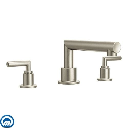 Moen TS93003 Deck Mounted Roman Tub Faucet Trim from the Arris ...