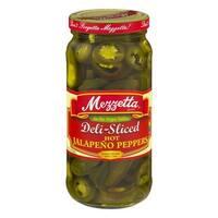 Mezzetta Hot Jalapeno Peppers - Sliced - Case of 6 - 16 oz.