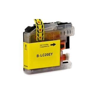 Monoprice MPI Compatible Brother LC20EY Inkjet-Yellow  (High Yield)