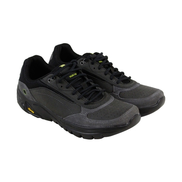 Hi-Tec V Lite Walk Lite Wallen Mens Gray Leather Athletic Training Shoes