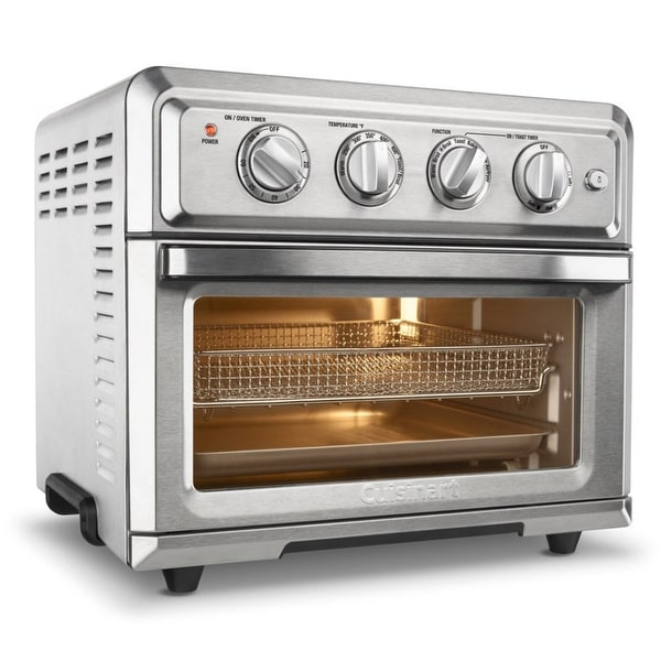 Cuisinart TOA-60 Air Fryer Toaster Oven (Silver). Opens flyout.