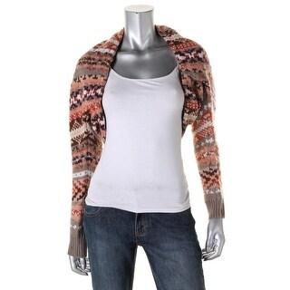 Free People Womens Wool Bolero Shrug Sweater - XS