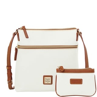 Dooney & Bourke Eva Crossbody W Med Wristlet (Introduced by Dooney & Bourke at $248 in Feb 2016) - White