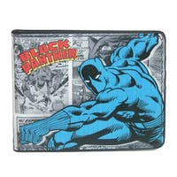 Marvel Men's Black Panther Comic Bifold Wallet - One size