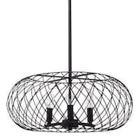 Miseno MLIT145041 3-Light Full-Sized Cage Style Pendant