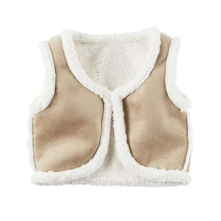 Carter's Big Girls' Fleece-Lined Vest, 7-Kids