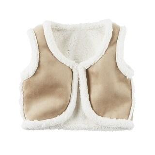 Carter's Big Girls' Fleece-Lined Vest, 8-Kids