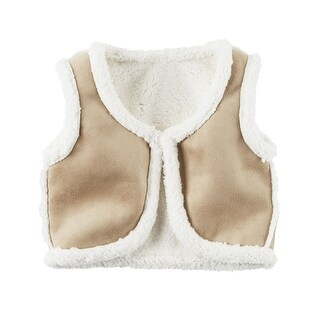 Carter's Little Girls' Fleece-Lined Vest, 5-Toddler