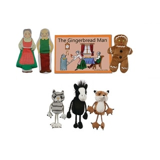 Finger Puppet - Traditional Story Sets - The Gingerbread Man PC007907