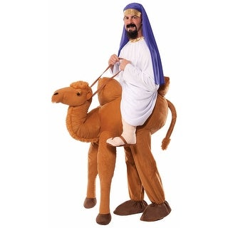 Adult Ride A Camel Arabian Halloween Costume - standard - one size