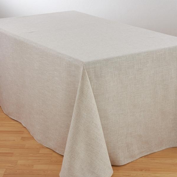 Toscana Linen Blend Tablecloth. Opens flyout.