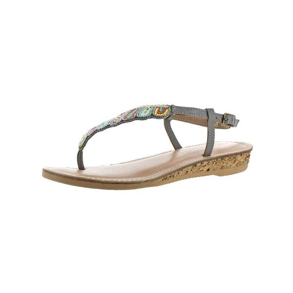 e2d7fecb3 Shop Volatile Womens Zahara Thong Sandals Cork Open Toe - Free ...