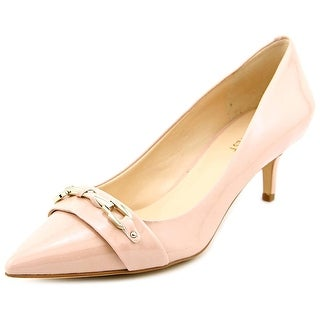 Nine West Xanthos Women Pointed Toe Leather Pink Heels