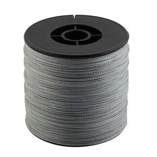 Braided Fishing Line Beading Thread Cord Gray 0.36mm Dia