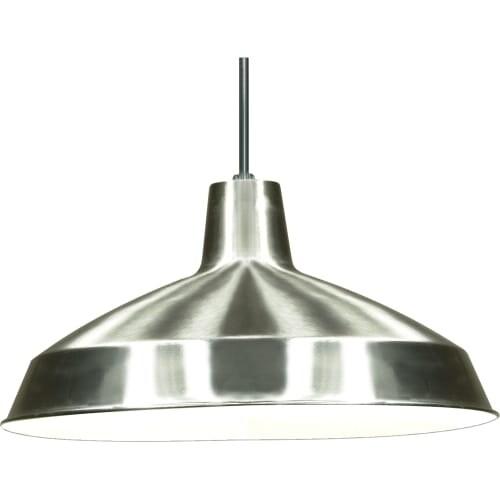 "Nuvo Lighting 76/661 Single Light 16"" Wide Pendant - Grey"