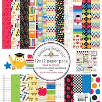 Doodlebug School Paper Pack, 12 by 12""