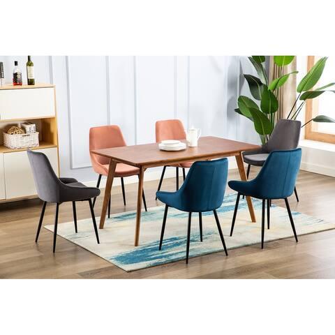 Carson Carrington Ido Velvet Dining Chairs (Set of 2)