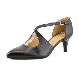 Naturalizer Okira Women W Pointed Toe Leather Black Heels|https://ak1.ostkcdn.com/images/products/is/images/direct/33ac3c78f640319c219df737b66e71450c8cab35/Naturalizer-Okira-Women-W-Pointed-Toe-Leather-Black-Heels.jpg?impolicy=medium