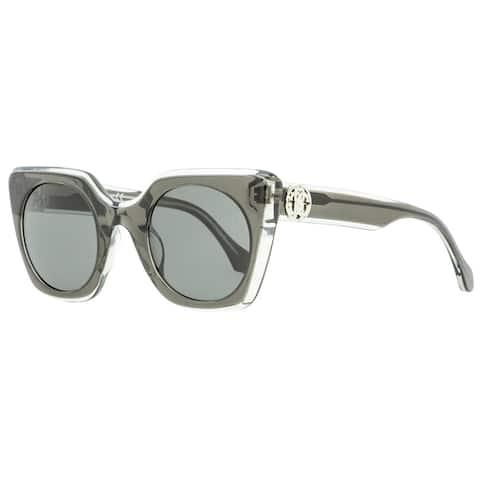 Roberto Cavalli RC1068 Greve 05A Womens Transparent Gray 48 mm Sunglasses - Transparent Gray