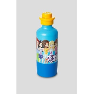LEGO Friends Dark Azur Blue Children's Toy Drinking Bottle 11.5 oz.