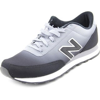 New Balance ML501 Men  Round Toe Synthetic Black Sneakers