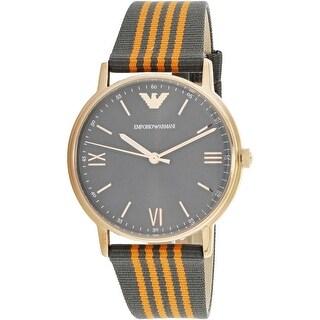 Emporio Armani Men's Kappa AR11014 Multicolor Canvas Fashion Watch