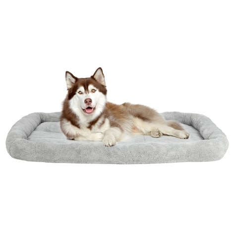 "51"" Large Size Pet Dog Bed Pet Mat Pad Gray - 51"""
