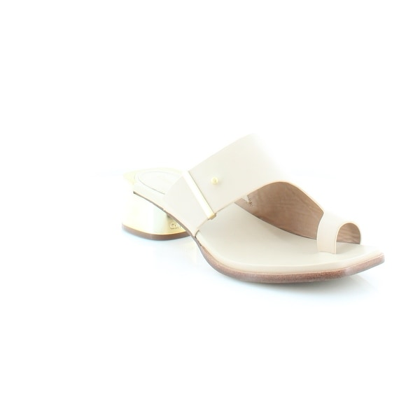 Calvin Klein Aryna Women's Sandals & Flip Flops Nude - 9