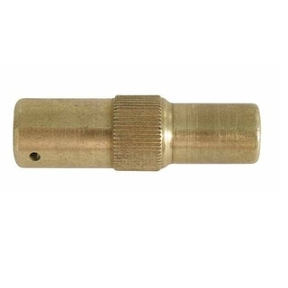Mosquito Magnet MM235008 Quick Clear Adapter, Brass