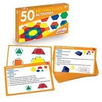Junior Learning JRL329 50 Pattern Block Activities