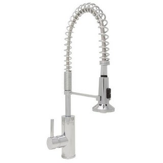 Mirabelle MIRXCPS100 Presidio Pull Down Pre-Rinse Kitchen Faucet with High Arch
