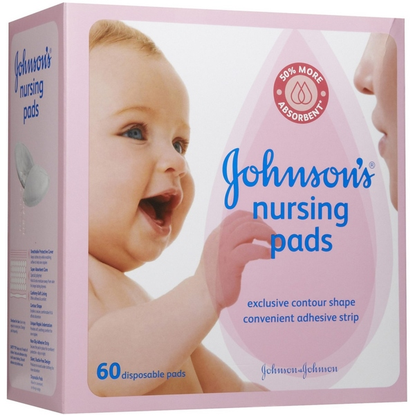 JOHNSON'S Nursing Pads 60 Each