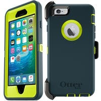 Jade Green OtterBox Defender Series Case For iPhone 6 & 6s w/ Holster